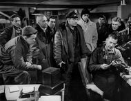 The men in the radio room - The Thing (1951)