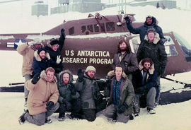 Cast shot promotional image - The Thing (1982)
