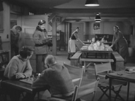 Polar Expedition Six Rec Room - The Thing from Another World (1951)