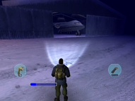 Military Airstrip Hangar - The Thing (2002)