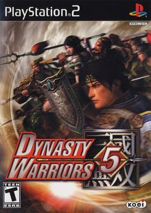 Dynasty Warriors 5 PS2