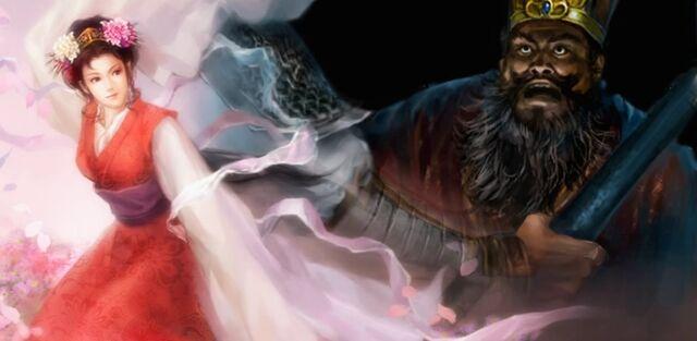 File:Lü Bu assassinates Dong Zhuo (cutscene) - RTKXI.jpg