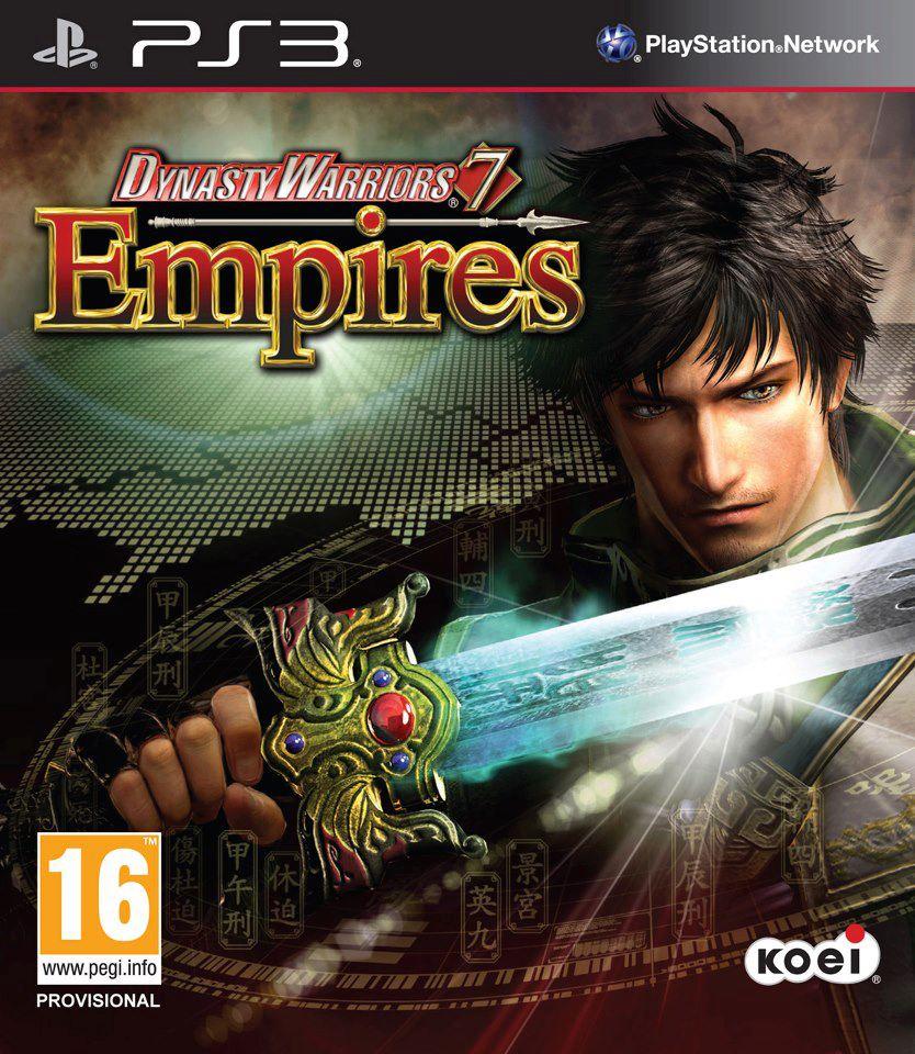 Kết quả hình ảnh cho Dynasty Warriors 7 Empires cover ps3