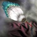 White Feather Fan - RTKXIII