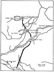 Routes to Guangzong and Xiaquyang