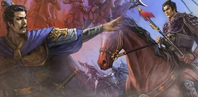 File:Cao Cao vs Lü Bu for Yan Province (cutscene) - RTKXI.jpg