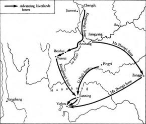 Shu-Han route to Nanzhong