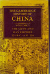 Cambridge History of China vol 1