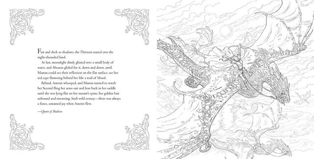 FileThrone Of Glass Manon Coloring Book