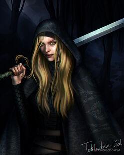 Celaena Sardothien by Morgana0anagrom