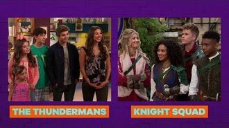 "Sat, Feb 24th Night of Premieres w all new ""The Thundermans"" & ""Knight Squad""! HD"