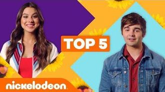 Jack Griffo & Kira Kosarin Reveal Their Top 5 Moments 😂 The Thundermans Nick