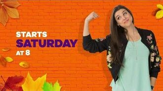"Sat, Nov 18th Night of Premieres w all new ""The Thundermans"" & ""School of Rock""!"