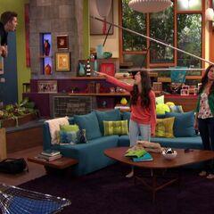 Phoebe floats Max