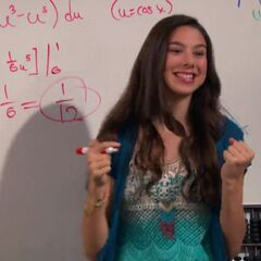 Phoebe in Math class