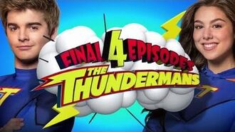 "The Thundermans Final 4 episodes including the finale, ""The Thunder Games"" HD"