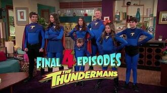 "The Thundermans Final 4 episodes including the finale, ""The Thunder Games"" 2 HD"