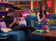 Max and Phoebe on Rebel Raptor