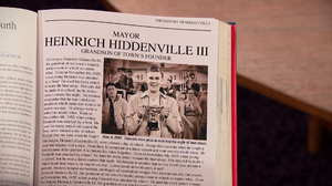 Complete History of Hiddenville book initial