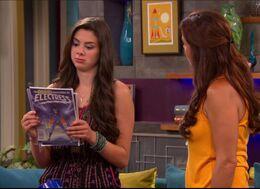 Phoebe Checks Out Electress Comics