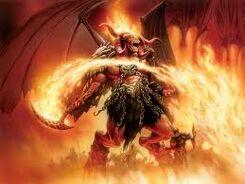 Demon photo.