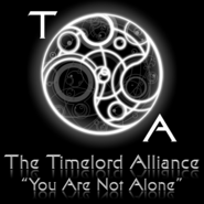 The Time Lord Alliance Logo and Quote