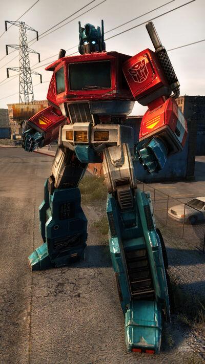 Optimus Prime's new makeover