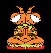 Mess-Mantis Orange Bin-Sects S5