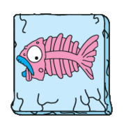 Frost-Fish Pink Frozen-Trash S5
