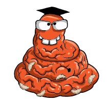 Brain Worm Official Artwork (Image By Moose Toys)