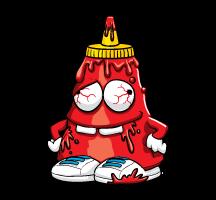 Yuck Ketchup Artwork
