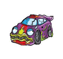 Carnage Car Artwork