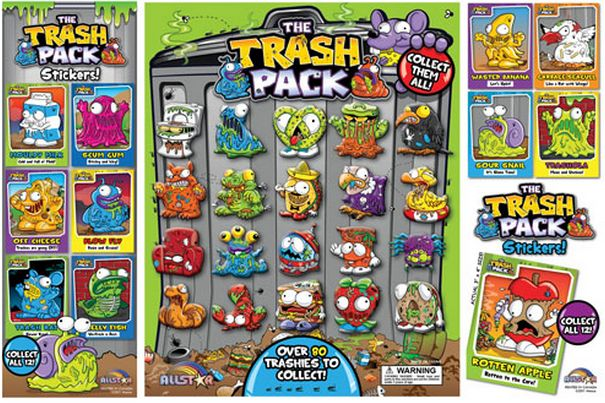 Vending Machine Stickers  The Trash Pack Wiki  FANDOM powered by