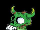 Cruddy Cow Skull