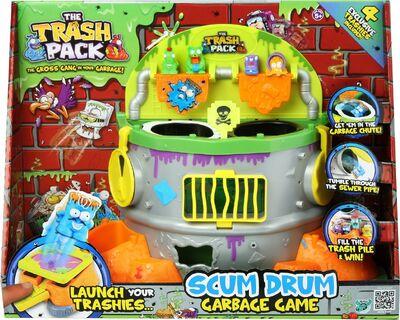 Scum drum box