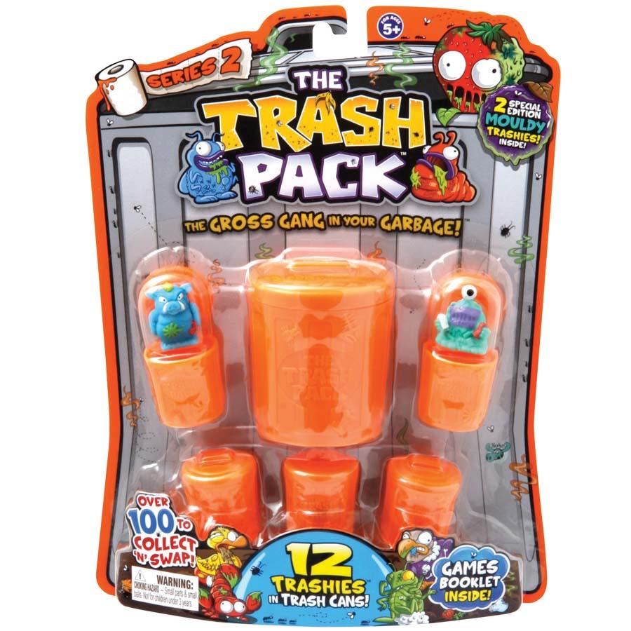 Trash Pack Storage Wheelie Bin