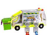 Metallic Garbage Truck