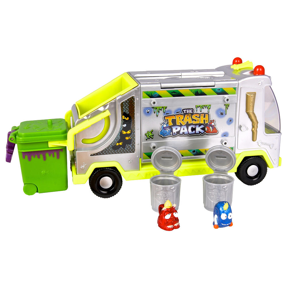 The Trash Pack Ooze Wheelie Bin Play Set Review And Unboxing 2 Trashies