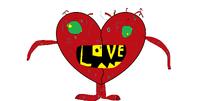 Broken Candy Heart