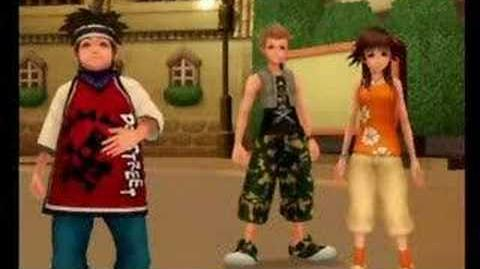 Hayner And Sora Santa Buy Me A Mercedes Benz