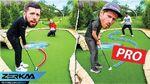 Sidemen Minigolf vs Professional Golf Players