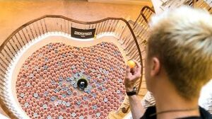 BIGGEST BEER PONG EVER *WORLD RECORD*