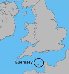 Uk map guernsey