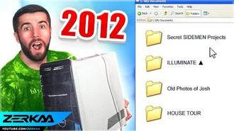 I Found My Old PC From 2012... (UNSEEN Sidemen Plans + More)