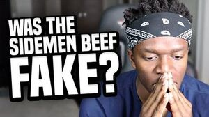 WAS THE SIDEMEN BEEF FAKE?