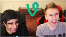 REACTING TO SIDEMEN VINES WITH VIK