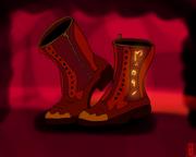 Boots of Uncontrollable Dance fan art by @tokunerd83