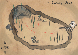 Canary Deep official map by @MontyGlu