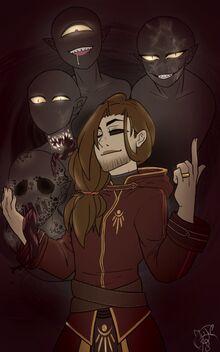 Edward and Shadow Demons fan art by @JojieSempai 18