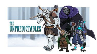 Unpredictables fan art by @CitricKing
